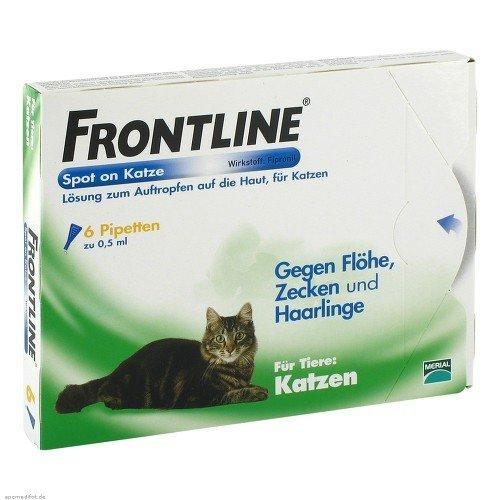 Frontline Spot on K Lösung für Katzen
