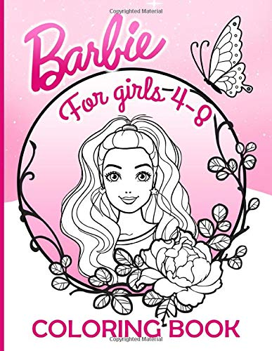 Barbie Coloring Book: Barbie Adults Coloring Books! (Stress Relieving For Anyone)