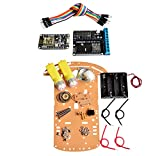 Artshu 2wd rc wifi smart car kit L293D by ESP-12E for esp8266 esp 12e diy rc toy remote control by phone Lua nodeMCU+motor shield+car