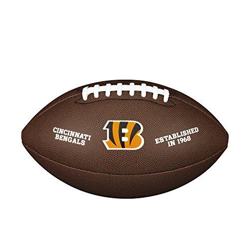 WILSON NFL Team Logo Composite Fußball, Cincinnati Bengals, Official
