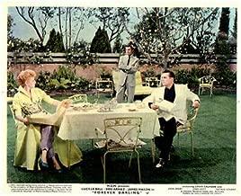 Forever Darling Original Lobby Card Lucille Ball Desi Arnaz James Mason 1956