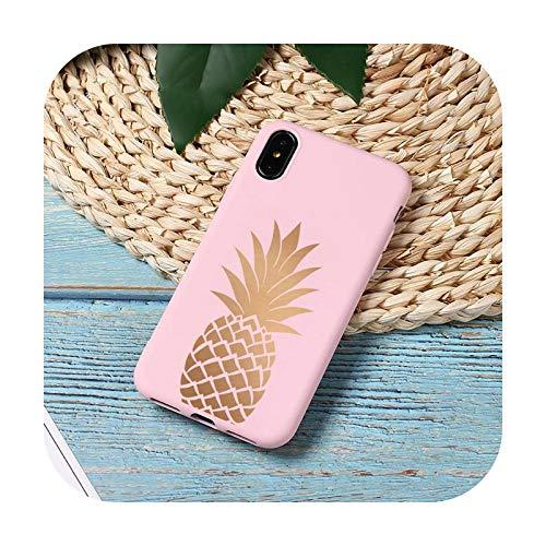 oro creativo estrellas fruta palabra teléfono caso caramelo color para iPhone 11 12 mini pro XS MAX 8 7 6 6S Plus X 5S SE 2020 XR-a5-iPhone11pro