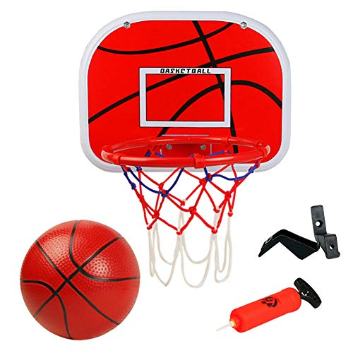 Symiu Canestro Basket Pallacanestro Tabellone Basket Giardino Giochi all Aperto eInterno per Bambini