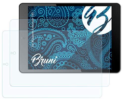 Bruni Schutzfolie kompatibel mit Blaupunkt Endeavour 785 Folie, glasklare Bildschirmschutzfolie (2X)