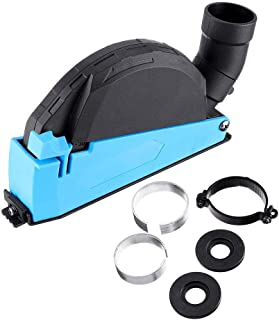 ZJCQAUniversal Surface Grinding Dust Shroud, Premium Surface Cutting Dust Shroud For Angle Grinder, 4 Inch to 5 Inch Dust ...