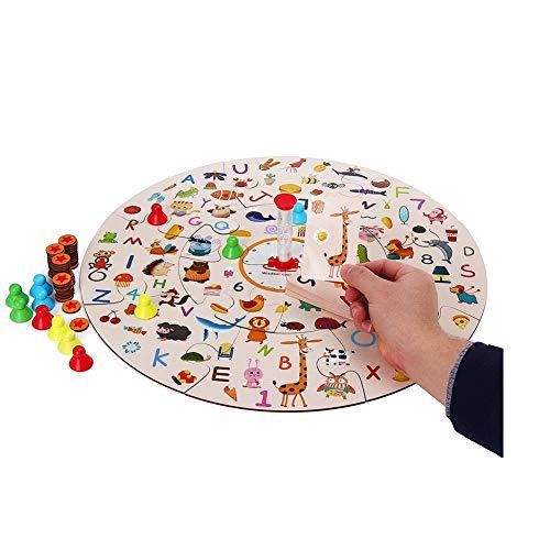 Dongbin Haushaltswaren Holzpuzzle Lernspielzeug Für Kinder Speicher Passende Brettspiel Kit Haushalts-Speicher-Zubehör,Toy