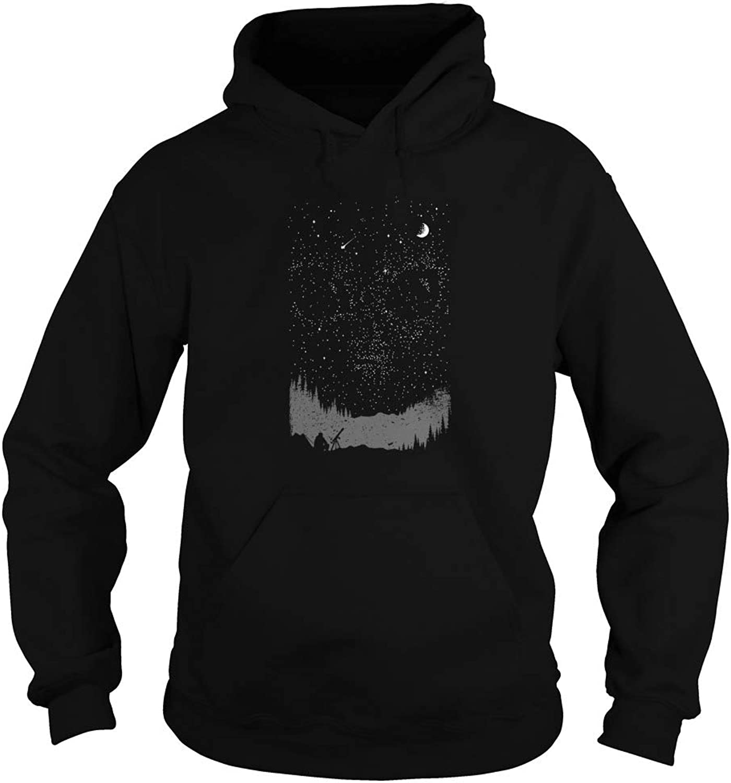 We're Not Alone Alien Universe Adult Hooded Sweatshirt