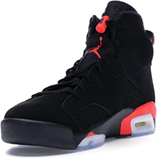 cheap for discount 932ea 95f43 Jordan Air 6 Retro Men s Shoes Black Infrared 384664-023 (10 ...