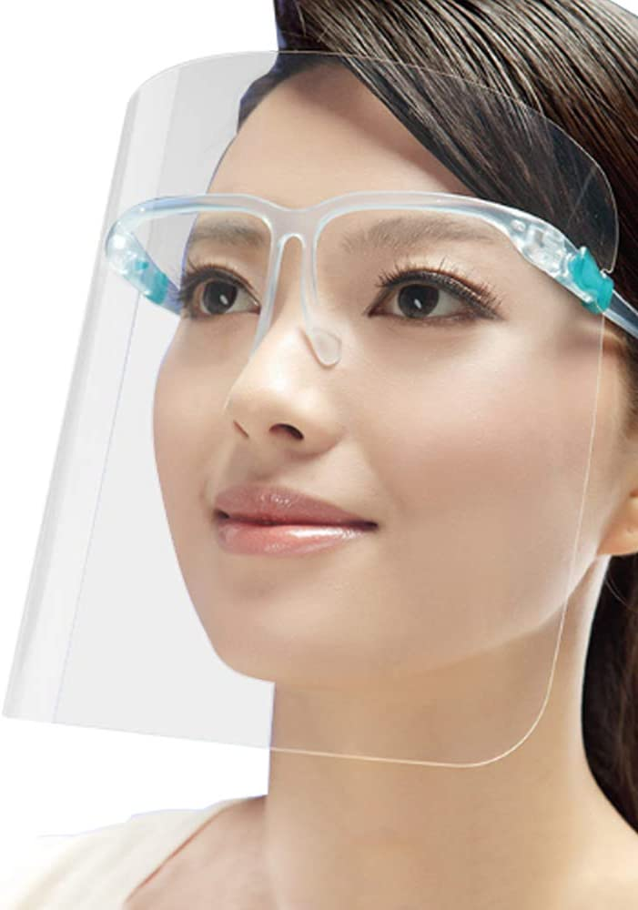 Face Shield Protection Cover Guard Reusable Glasses  US Seller 5 sets pack