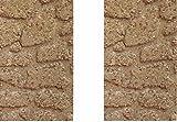 Generico ricevi 2 Pannelli Pavimento di Sughero 33x25 cm Spessore 10 mm Foglio Pannello per PASTORI PRESEPE San Gregorio ARMENO Artigianali sheperds Crib