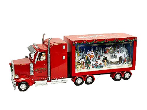 M&M's Carillon Musicale Camion Babbo Natale Musicale Giostre 52cm