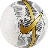 Nike Ballon de Foot MERC Fade en Cuir Blanc Taille 5 SC3023-101
