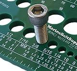 Marine Bolt Supply Nut, Bolt & Screw Gauge (Standard & Metric) (Coarse & Fine) Diameter, L...