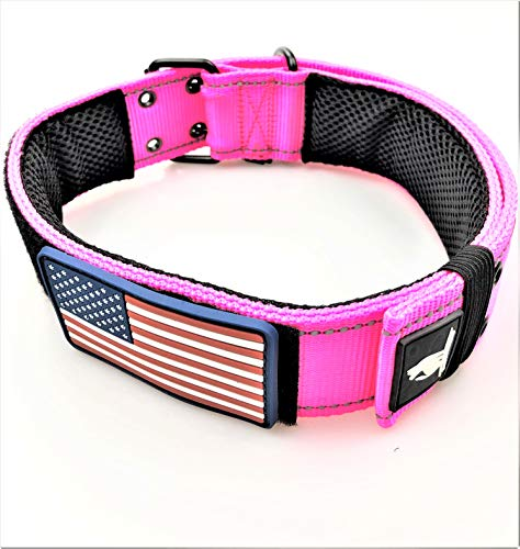 Dog Collars K9 Harness Tactical Military Style -...