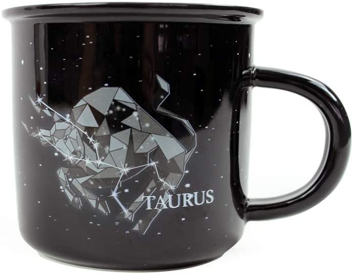 Stargazer TAURUS Astrology Quantity limited Camp Mugs Creature Tampa Mall Cups by Ceramic