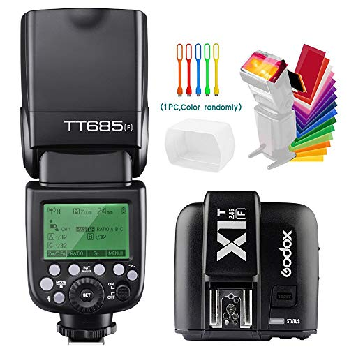 Godox TT685F TTL 2.4G GN60 High-Speed Sync 1/8000S Camera Flash Speedlite
