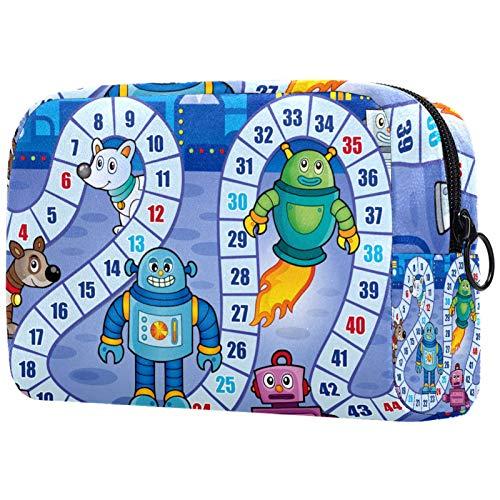 Neceser de viaje, bolsa de viaje impermeable, bolsa de aseo para mujeres y niñas, gato negro