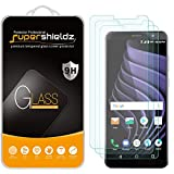 (3 Pack) Supershieldz Designed for ZTE Blade Max View Tempered Glass Screen Protector, Anti Scratch, Bubble Free