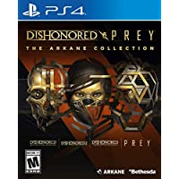 Dishonored and Prey: The Arkane Collection for PlayStation 4 by Bethesda