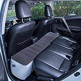 FMS Gonfiabile Auto Materasso SUV Materasso per Universale Auto SUV MPV Auto Materasso per Auto Portatile Letto per All'aperto,Supporter Plus de 300 kg de poids (Petit matelas-Grigio)