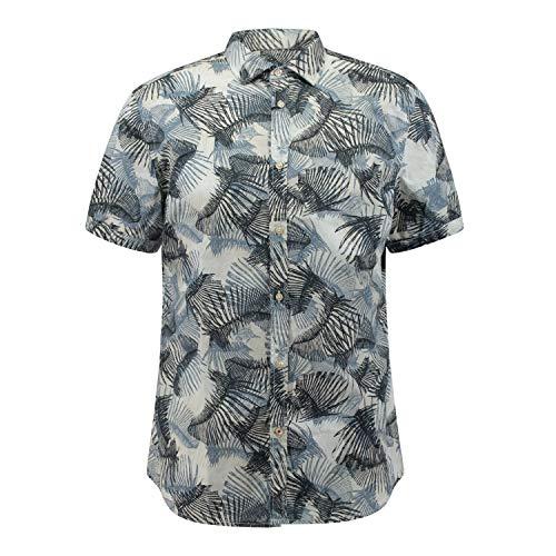 CINQUE Herren CISPUTNIK Freizeithemd, Blau (Marine 69), Large (Herstellergröße: L)