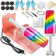 Etrech Tumbler Spinner, Tumbler Turner Machine, Cup Turner for Tumblers, Spin It Cup Spinner, Epoxy Tumbler Kit (Rose Golden)