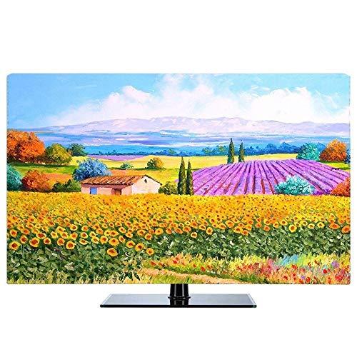 WaWeiY Cubierta De Polvo De TV Televisores De Varios Tamaños Que Cuelgan Trapo del Polvo (Color : D, Size : 70')