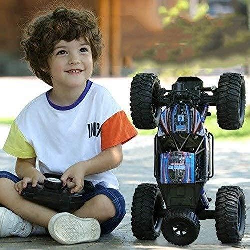 Giow 1:14 Smart Remote Control Car Toy 4WD 2.4GHz Radio Control Off-Road High Speed Escalada Coche de Carreras Controlado por Radio Monster Truck Modelo RC Chariot Stunt Drifting Vehicle para n