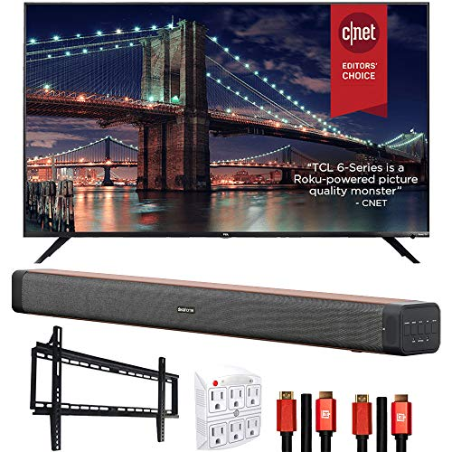 TCL 65R635 65-inch 6-Series 4K QLED Dolby Vision...