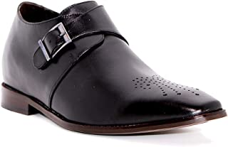 Max Denegri Zapato Formal Gentleman Negro 7cms De Altura