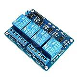 Carte d'interface relais 4 canaux - Entrées opto-isolées - 3,3à 5V - Pour Arduino et Raspberry Pi