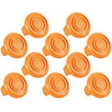 WORX WA6531 GT Trimmer Replacement Spool Cap Covers (10 Pack)