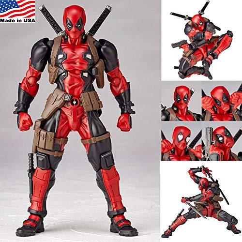EvelynSemple Superhero Action Figures Figurines Kids Toys for Boys Model 15CM
