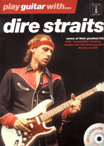 Play Guitar With Dire Straits (TAB Book & CD): Songbook, CD, Grifftabelle, Tabulatur für Gitarre