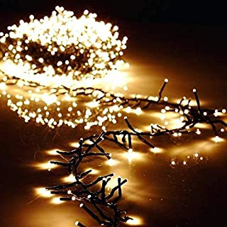 Torix 250 LED,15 M String Lights Super Bright multi color Mains Operated Warm LED Curtain String Light Christmas party bir...