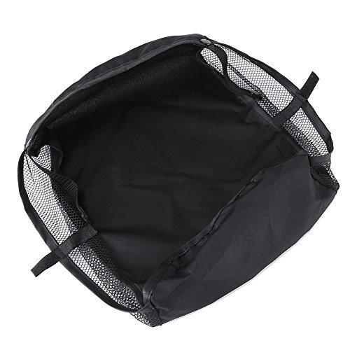 Zerodis Unten Korb Aufbewahrungskoffer Mesh Warenkorb Kinderwagentasche für Kinderwagen Buggy Zubehör Organizer Wasserdicht