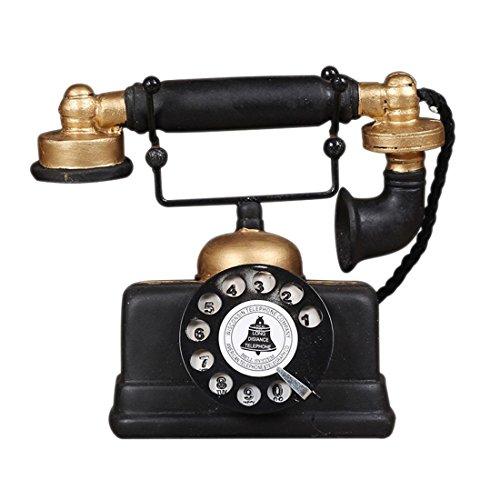 REFURBISHHOUSEIndustrie Dachboden Retro Dreh Telefonmodell Handwerk Dekoration Cafe Wohnzimmer Anzeige Schmuck Dekoration Film-Requisiten