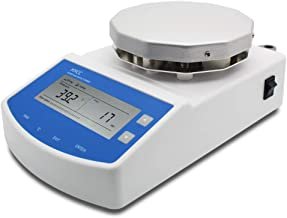 HYCC MS300 Digital Thermostatic Magnetic Stirrer Laboratory Heating Magnetic Stirrer Plate with Timing Function Heating an...