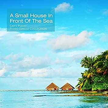 Small house in front of the sea