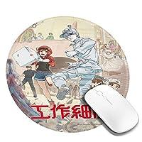 マウスパッド はたらくrbc 赤血球 細胞 オフィス 滑り止め ゲーム クッション For ノートパソコン 事務用品 アクセサリ
