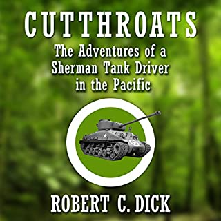 Cutthroats audiobook cover art