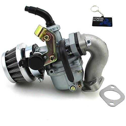 STONEDER 19 mm Carburateur PZ19 Carburateur filtre à air d'admission Tuyau 50 cc 70 cc 90 cc 110 cc ATV Quad