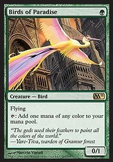 Magic: the Gathering - Birds of Paradise - Magic 2011 - Foil