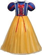 Disfraz de Blancanieves para Bebé niña Vestido Princesa Máscara Traje Parte Vestir para Largo Ceremonia Fiesta Elegantes Comunión Paseo Baile Pageant Damas De Honor Coctel Noche Cumpleaños Verano Ropa