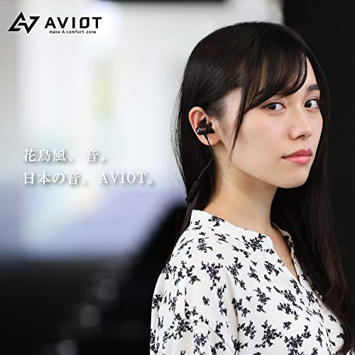 AVIOTアビオット日本のオーディオメーカーWE-D01bBluetoothワイヤレスイヤホンiPhoneAndroidジェラルミン筐体IPX7防水6時間連続再生Hi-Fi高音質ハンズフリーCVC6.0ブルートゥース(ダークメタリックブラウン)