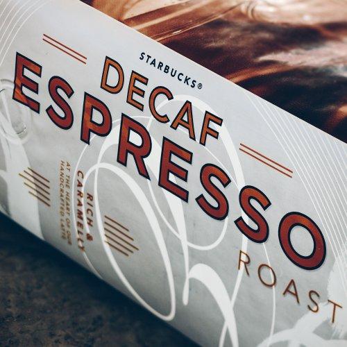 Starbucks Decaf Espresso Roast 16 Oz (1 Lb) - Whole Bean