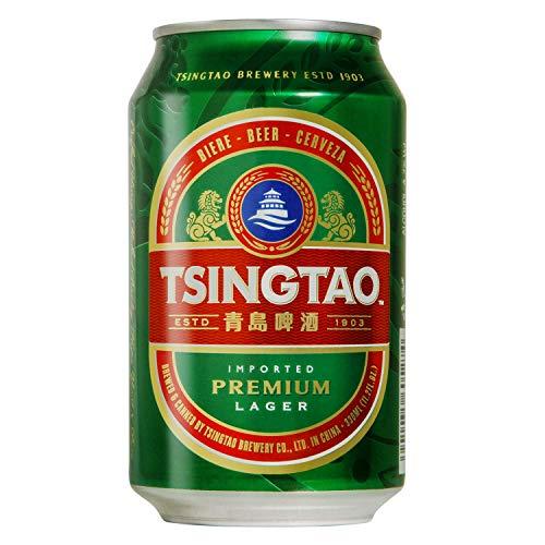 青島ビール 缶 [ 中国 330ml×24本 ]