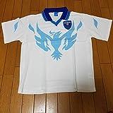 40%OFF横浜FC ポロシャツ L プラシャツ ドライ フリエ 青 白 ブルー soccerjunkey Tシャツ ホワイト ユニフォーム XL LL