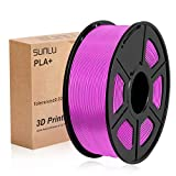 SUNLU 3D Printer Filament PLA, 1.75mm PLA Wood Filament, 3D Printing Filament Low Odor, Dimensional Accuracy +/- 0.02 mm, 2.2 LBS (1KG) Spool, Wood …