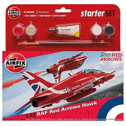 Airfix A55202C Medium Starter Set - RAF Red Arrows Haw